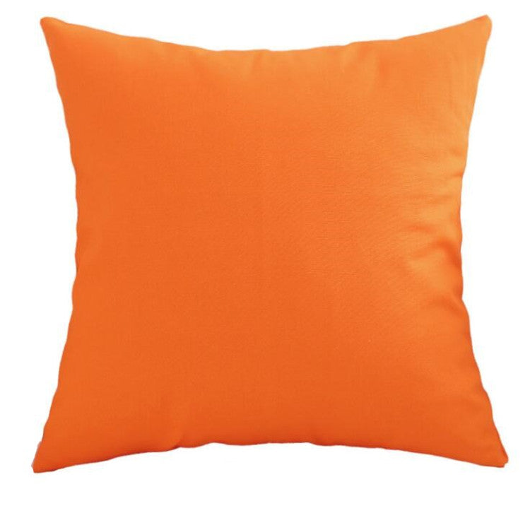 Luna Orange Cushion - Modern Cushion