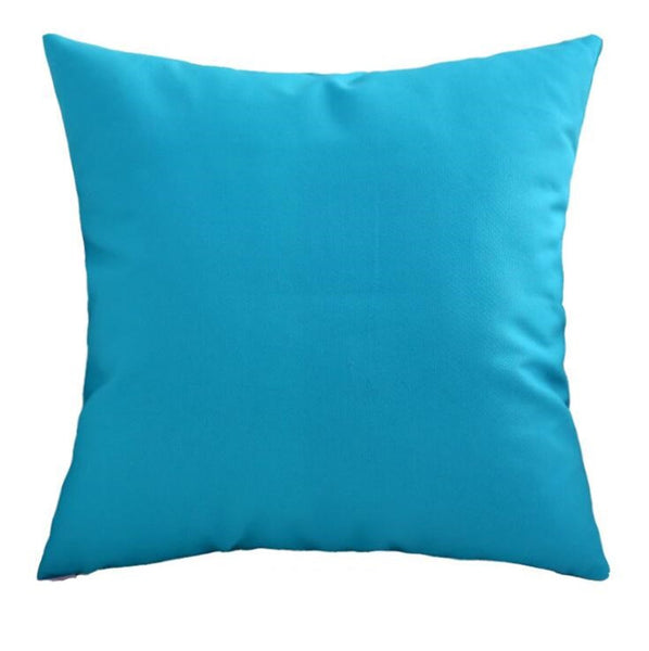 Luna Blue Cushion - Modern Cushion
