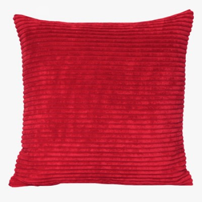 Chenille Velvet Red Cushion - Modern Cushion