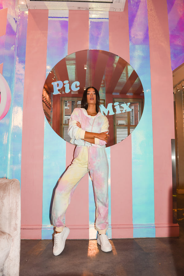 Original Pastel Tie Dye Lounge Set