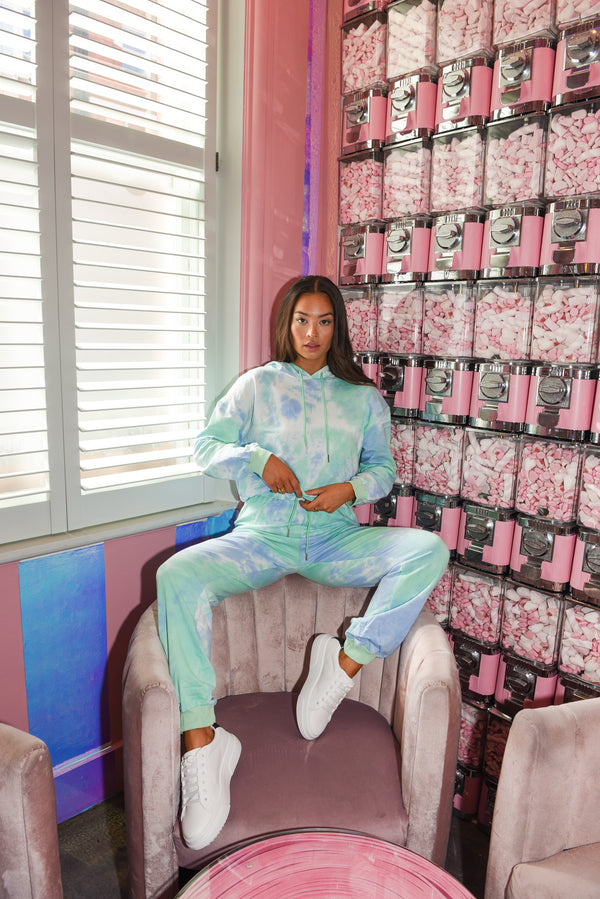 Mint Tie Dye Lounge Set