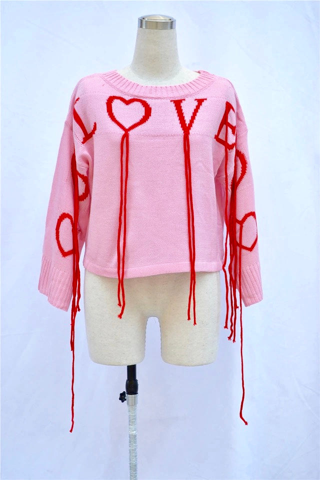 Pink Love Knit