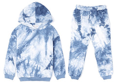 Childrens Blue Tie Dye Lounge Set