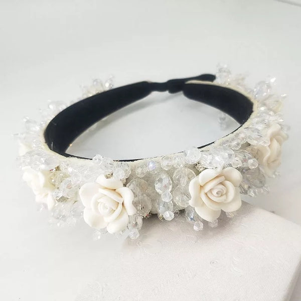 Rose Pearl Crown