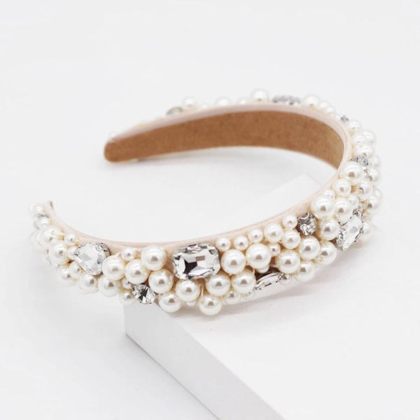 Pearl & Crystal Crown