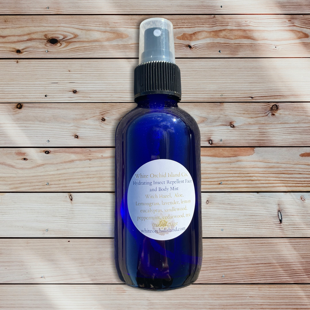 All Natural Insect Repellent Face and Body Spray