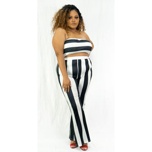 Stripe Me Down Set - Crown Jewels Boutique