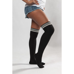 Black Socks - Crown Jewels Boutique