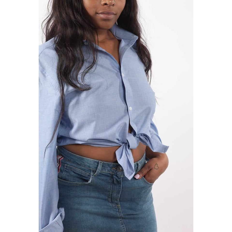 Line Up for It Denim Mini Skirt - Crown Jewels Boutique