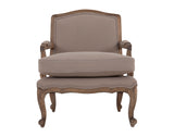 Rochelle <br> Armchair <br> Dove Grey
