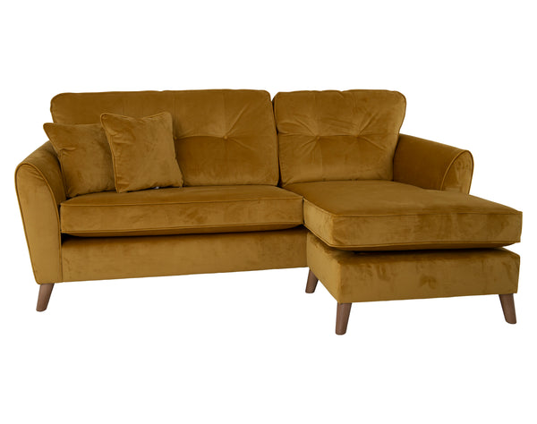Marwood Sofa Chaise <br> Left Hand or Right Hand <br> Mustard