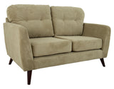 Eddie 2 Seater - Satin - Lime