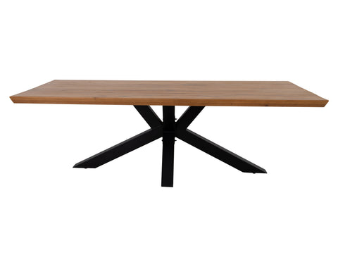 Havigan Dining Table <br> 2.4m <br> Oak/Metal