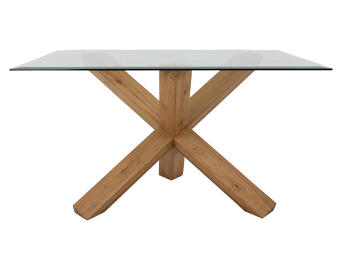 Spider Dining Table <br> 1.35m <br> Oak