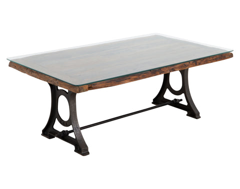 Weyton Coffee Table <br> Reclaimed Wood <br> Metal