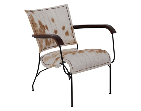Georgia Chair <br> Cowhide <br> Multi