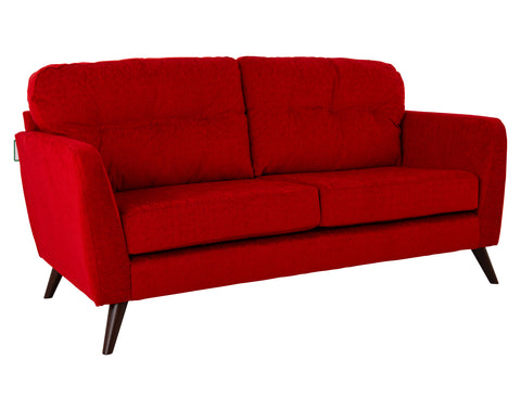 Eddie 3 Seater <br> Chili <br> Red