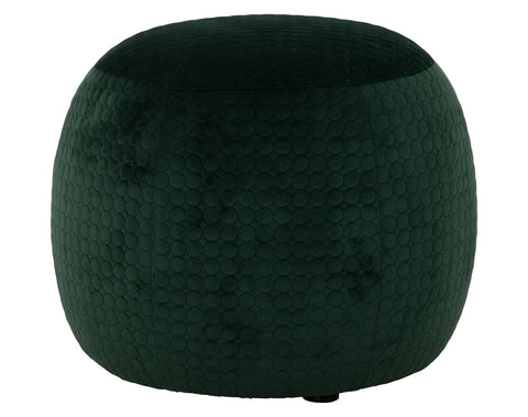 Buffie Stool <br> Velvet <br> Green