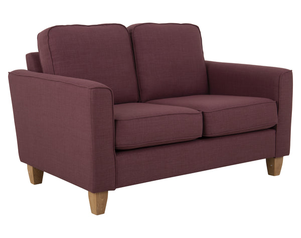 Portia Small Sofa - Turin - Mulberry