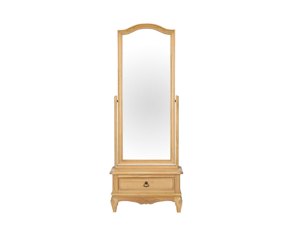 Lamonte Cheval Mirror - Mindi - Natural