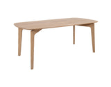 ALBIERES - 1.6m Dining Table Set - Oak - RRP £1995