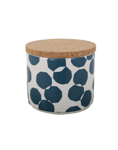 Scandi Storage Jar - Fjord Blue <br> RRP £12