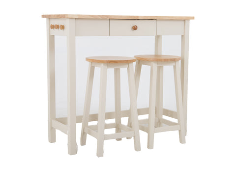 Adler Bar Table With Stools <br> JOHN LEWIS <br> RRP £199