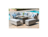 Oxford Royal Corner Set Sofa, Benches + Table