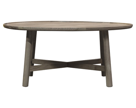 Kingham Round Coffee Table (Grey)