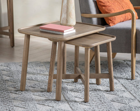 Kingham Nest of 2 Tables (Grey)