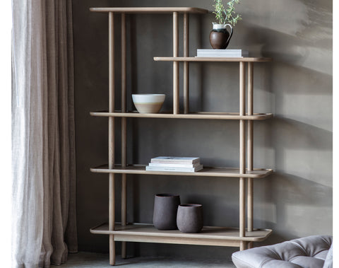 Kingham Open Display Unit - Grey