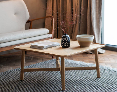 Kingham Square Coffee Table (Oak)