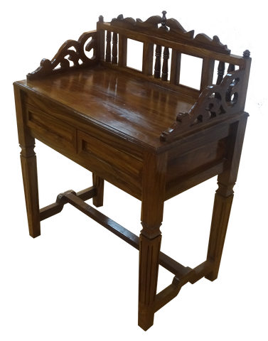 TRADITIONAL WOODEN STUDY TABLE