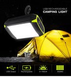 Mobile Power Bank Flashlight USB Port Camping Tent Light