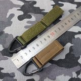 Backpack Carabiner Buckle Strap
