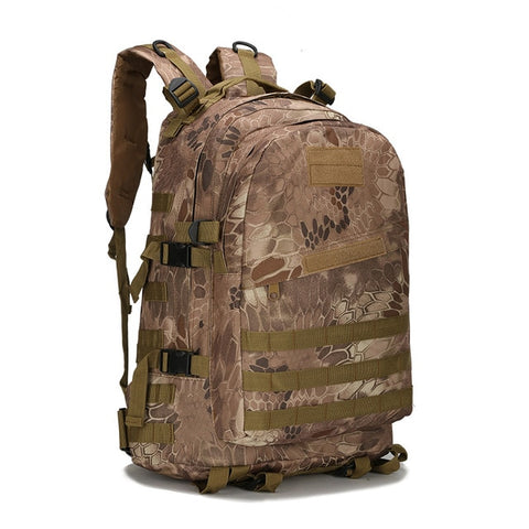 45L Military Army Digital Camouflage Hiking Backpacks