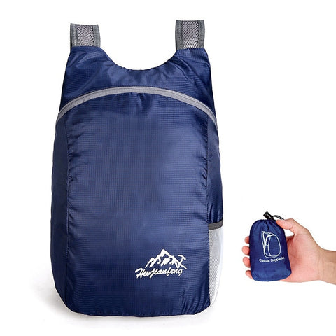 Lightweight Foldable Backpack Day-Pack Bag