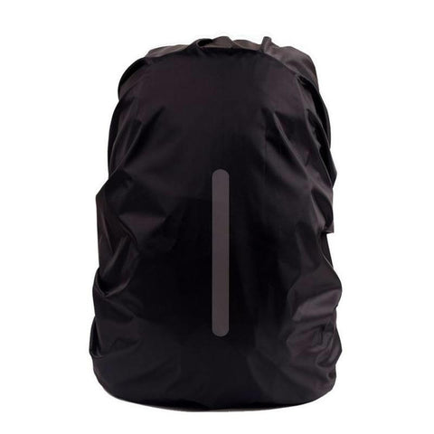 Waterproof Backpack Rain Cover with Light Reflecting Strip