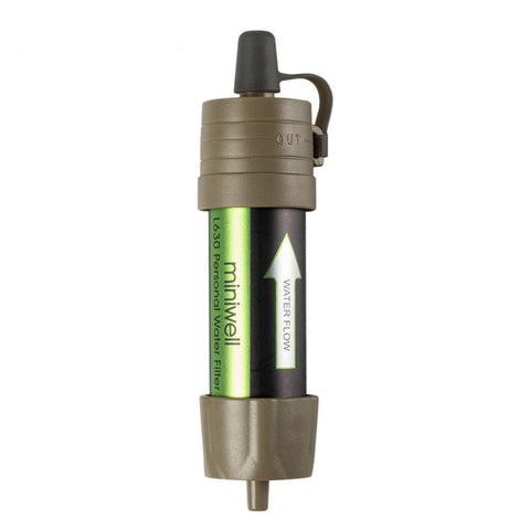 Miniwell Gravity Filter Water Purification Straw
