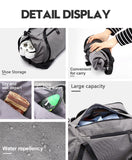 Waterproof Backpack & Duffle Bag Travel Pack