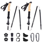 Carbon Fiber Ultralight Folding Trekking Poles