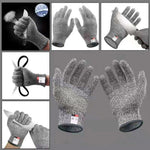 Anti Cut Gloves High Performance Level 5 Protection