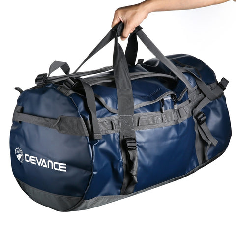 70L Water Resistant Heavy Duty Duffel Travel Bag