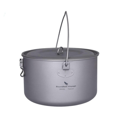 Boundless Voyage Titanium Hanging Pot (2900ml)