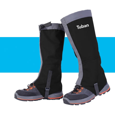 Tuban Waterproof Leg Gaiter Covers with Anti-Tear Lining