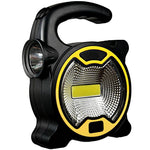 waterproof LED portable Camping Spotlight Lantern Battery Powered