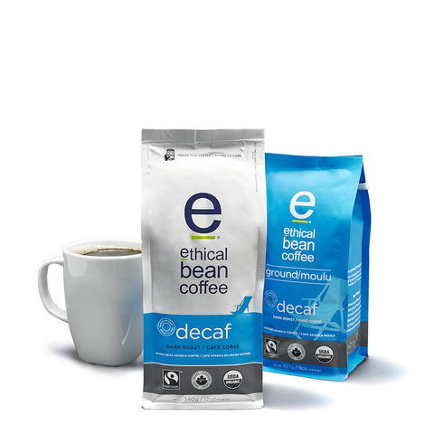 decaf - Ethical Bean Coffee Canada