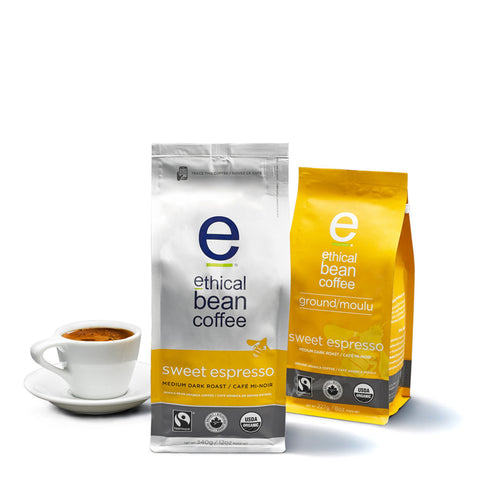 sweet espresso - Ethical Bean Coffee Canada