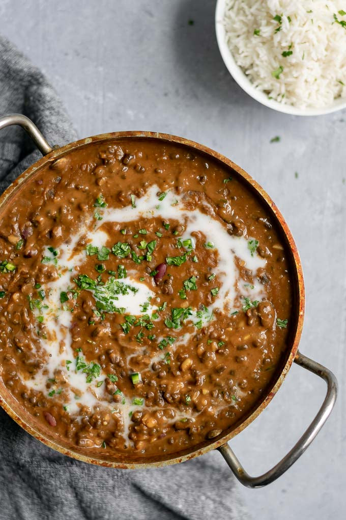 Daal Makhani - Black lentils with Kidney Beans