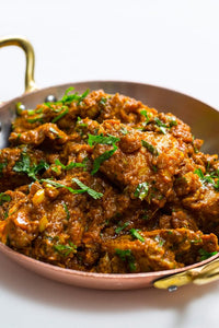 Chicken Bhuna with rice